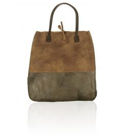 Fred de la Bretoniere bruine shopperbag