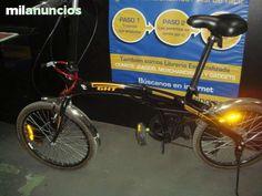 . Bicicleta GHT fredom 2.0 plegable color negra naranja con guardabarros buen estado La bicicleta esta en buen estado tal y como puedes ver en las fotografias puedes venir a verla sin ningun compromiso a la calle sevilla n�12