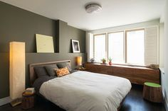 Park Slope Residence contemporary bedroom