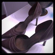 Aldo brown heels Brown Aldo heels. Barely worn like new! Size 38 (equivalent to women's size 8-8.5) ALDO Shoes Heels