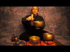 ▶ Chakra Meditation Series 7th Chakra/Sahasrara using B Note Singing Bowls in HD - YouTube