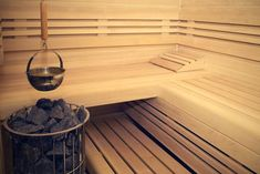 Bio sauna Saunas, Stairs, Relax, Design, Home Decor, Pictures, Stairway, Decoration Home, Room Decor