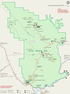 Topaz Utah Map.8 Best Arches National Park Maps Images National Parks Map Free