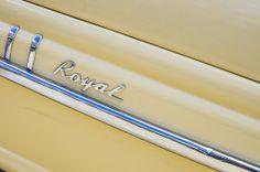 Royal car emblem