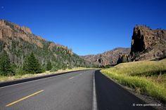 Buffalo Bill Cody Scenic Byway, Wyoming | ... North Fork Highway, Cody, WY and Old Faithful Geyser, Teton County, WY