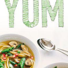 Asian Greens & Wonton Soup