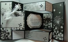 Wedding Tri-Shutter Card by MackieMade - Cards and Paper Crafts at Splitcoaststampers