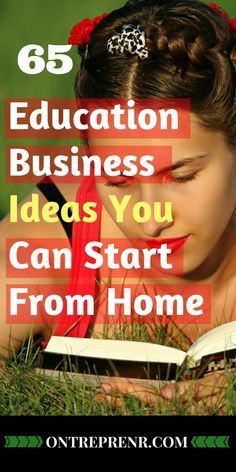 Extensive list of education business ideas entrepreneur can start, a perfect example of building a recurring stream of income