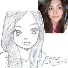 Lady McGaha Sketch by Banzchan: