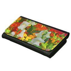Cheerful Garden Colors Wallet