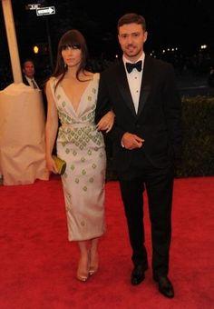 Jessica Biels Met Gala dress
