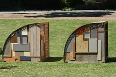 ANZFER FARMS  day bed huts made from reclaimed hardwoods and sheet material  http://www.anzferfarms.blogspot.de/2012/07/day-bed-huts-made-from-reclaimed.html