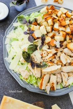 Easy Salad Recipes, Healthy Eating Recipes, Easy Salads, Cooking Recipes, Good Food, Yummy Food, Appetizer Salads, Food Cravings, Food Porn