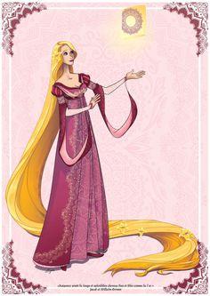 Rapunzel by http://eyvie.blogspot.fr/