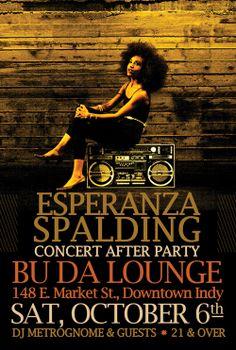 Esperanza Spalding - Concert After Party