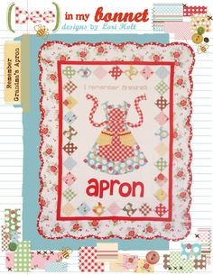 Remember Grandma's Apron by LoriHolt on Etsy, $14.00