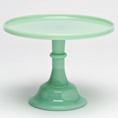 Milk Glass Cake Stands  Green UK Delivery