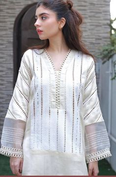 Neck Designs For Suits, Sleeves Designs For Dresses, Dress Neck Designs, Kurti Neck Designs, Kurta Designs Women, Kurti Designs Party Wear, Stylish Dress Designs, Stylish Dresses For Girls, Stylish Clothes For Women