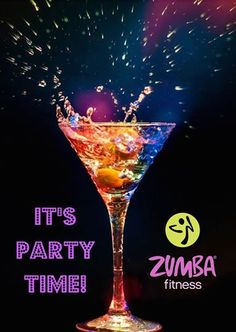 Zumba! Time to dance it off and shake it off in the new year!