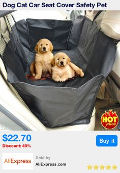 Dog Cat Car Seat Cover Safety Pet Waterproof Hammock Blanket Cover Mat Car Interior Travel Accessories Car Seat Covers Mat * Pub Date: 09:48 Jul 5 2017
