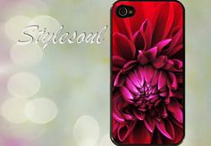 Flower iPhone 4 / 4S Case, iPhone 5 Case on Etsy, $21.61 CAD