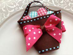 Easter Egg Basket Clip  Toddler Hair Clip  Baby by katelynnskloset, $5.95