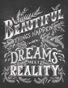 Shauna Lynn Panczyszyn is a hand lettering artist and illustrator located in Chicago, Illinois specializing in hand lettering, chalk lettering, illustration, whimsical lettering and kidlit/childrens illustrations. Chalkboard Typography, Chalk Lettering, Chalkboard Designs, Types Of Lettering, Typography Letters, Typography Design, Chalkboard Ideas, Creative Lettering, Typography Quotes