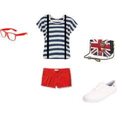 One Direction Concert Outfit, created by maddypuppypaws on Polyvore