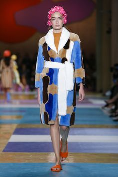 What are the prerequisites for next season'sMiu Miuwardrobe? An open-front apron skirt, a flower swim hat, a great mac (either plain in pastel or a jazzy geometric print), a towel f...