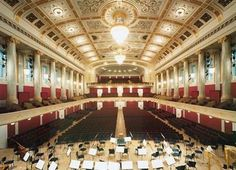 Konzerthaus, Vienna - Wiener Philharmonic plays here Theatrical Scenery, Visit Austria, Best Architects, Central Europe, Concert Hall, Study Abroad, Alps, Homeland, Germany