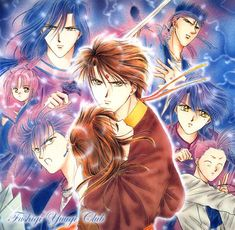 Fushigi Yuugi is definitely one of my favorite animes of all time!! And is one of the very few that I can stand to watch in English dub....