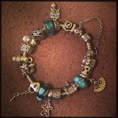 My Pandora Bracelet With Charms