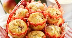Äppelmuffins med kanel – recept
