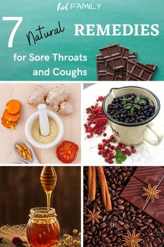 The next time you come down with a cough or sore throat, reach for one of these 7 natural and safe remedies! They will help suppress a bad cough and ease the pain of a raw, irritated throat. #naturalremedies #coldcures #holfamily