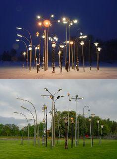 Street Light Garden