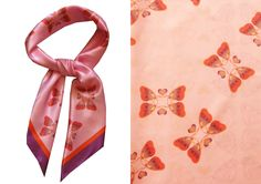 LISAN LY Butterfly Scarf