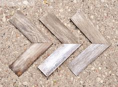 DIY Weathered Wooden Arrows -- definitely a DIY must for the nursery