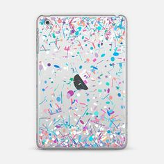 Girly Confetti Explosion Transparent iPad Mini Case by Organic Saturation | Casetify. Get $10 off using code: 53ZPEA