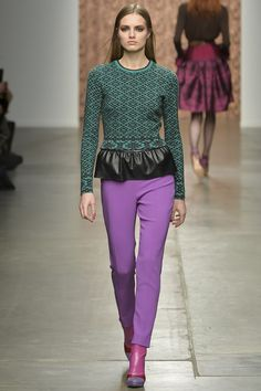 Sophie Theallet Fall 2015 RTW Runway – Vogue