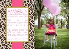 Amberly Custom Cheetah print Birthday by andreagerigdesigns, $15.00
