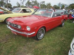 :) 1966 Ford Mustang GT Convertible