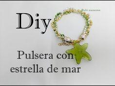 DIY: Pulsera con abalorio de estrella de mar | Bracelet Design