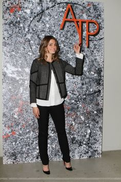 #StanaKatic representing #ATP on In Her Shoes (2015)