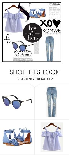 """""""Romwe #7/1"""" by almaa-26 ❤ liked on Polyvore featuring Steve Madden and romwe"""