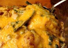 Paula Deen s Green Bean Casserole from Food.com: This recipe may be a little more labor intensive to make than the usual green bean casserole but it's so worth it. I love the fresh green beans and the cheese! I always use more mushrooms than called for just because I love them!