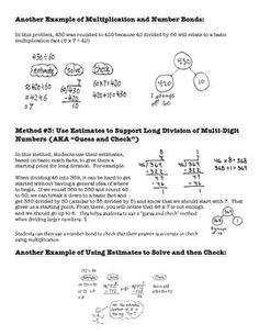 5th Grade Math Lesson 2 Homework Answers - image 7