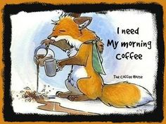 Yep.... some of us do need that cuppa #coffee first thing in the morning. What about you?