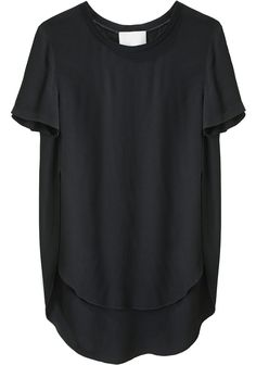 want! / curved hem tunic / 3.1 phillip lim