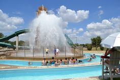 dump bucket at Rosemeade Rainforest Aquatic Complex - Carrollton, Texas Carrollton Texas, Best Family Vacations, Dallas, Things To Do, Photo Galleries, Places To Visit, Bucket, Thoughts, This Or That Questions