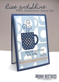 Funny Greetings, Funny Greeting Cards, It's Your Birthday, Birthday Cards, Coffee Cards, Stamping Up, Rubber Stamping, Diy Cards, Homemade Cards